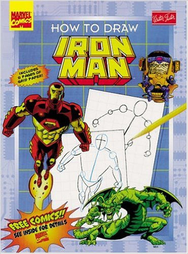 How to Draw Iron Man Paperback – Mar 1997