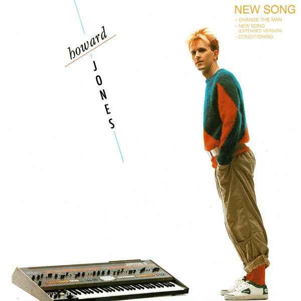 "Howard Jones ‎– New Song - 1983-Electro, Synth-pop Vinyl, 12"", 33 ⅓ RPM"