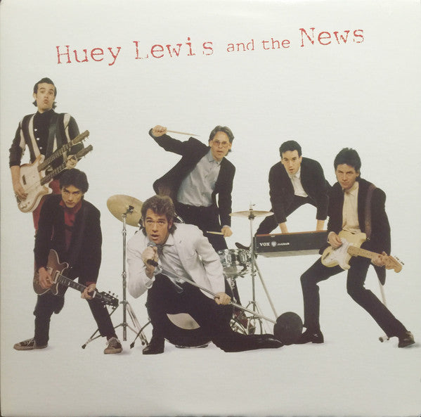 Huey Lewis And The New ‎– Huey Lewis And The News -1980- Pop Rock (vinyl)