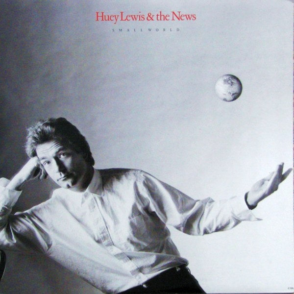 Huey Lewis & The News ‎– Small World 1988 Pop Rock (vinyl)