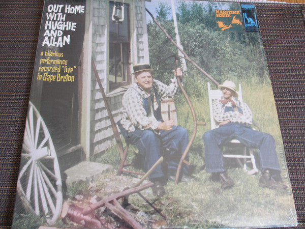 Hughie And Allan ‎– Out Home With Hughie And Allan -1968-Non-Music , Comedy , Maritime (rare Vinyl)