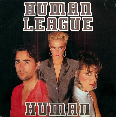 "Human League ‎– Human -1986-Synth-pop - Vinyl, 12"", 45 RPM (New Sealed)"