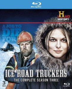 Ice Road Truckers: The Complete Season 3 [Blu-ray] Mint Used