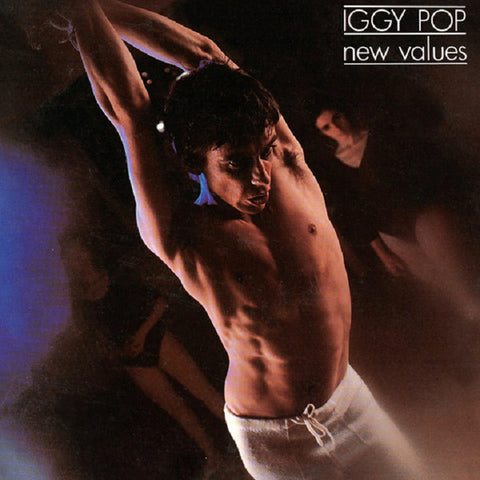 Iggy Pop ‎– New Values - 1979-Rock Style: Garage Rock, Glam, Classic Rock (Rare Vinyl)