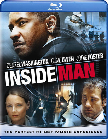 Inside Man [Blu-ray] Mint Used
