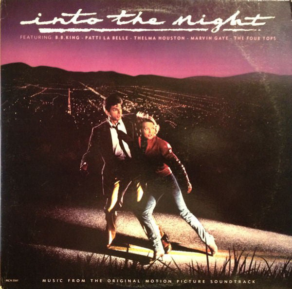 Into The Night (Music From The Original Motion Picture Soundtrack) 1985-  Funk / Soul, Blues soundtrack (rare vinyl)