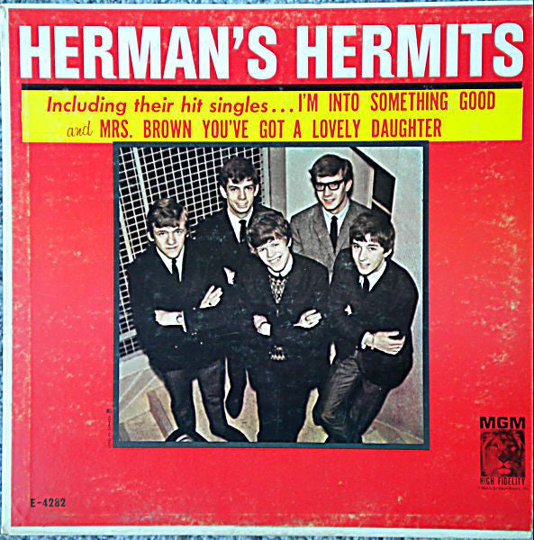 Herman's Hermits ‎– Introducing Herman's Hermits (2nd cover) 1965 pop Rock (vinyl)
