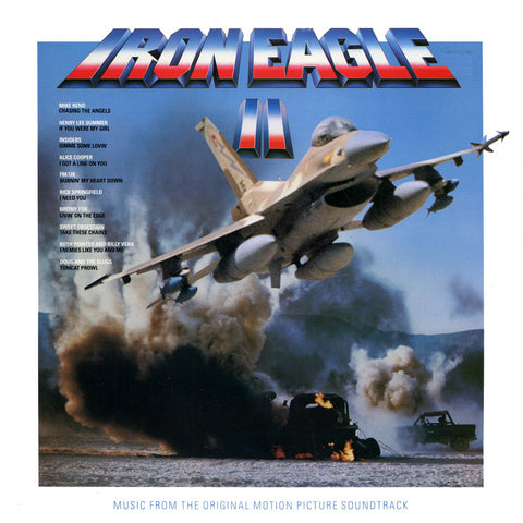 Iron Eagle II - Music From The Original Motion Picture Soundtrack -1988 Prog Rock (Vinyl) Mint