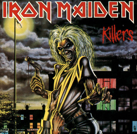 Iron Maiden ‎– Killers -1981-  Heavy Metal ( Clearance Vinyl ) NO COVER