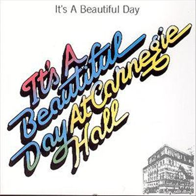 It's A Beautiful Day ‎– At Carnegie Hall - 1972 -Psychedelic Rock (vinyl) Damaged cover