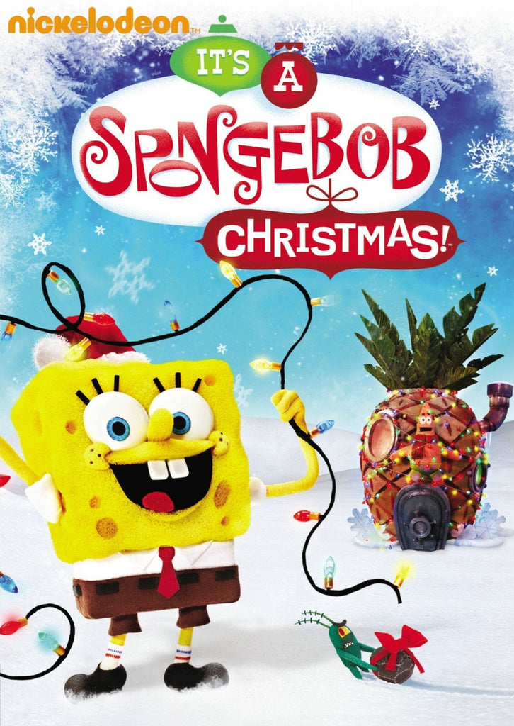 SpongeBob SquarePants: It's a SpongeBob SquarePants Christmas! DVD ( New / sealed )