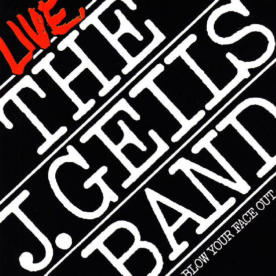 J. Geils Band ,The ‎– Live - Blow Your Face Out (2 lps)1976 Classic Rock (vinyl)