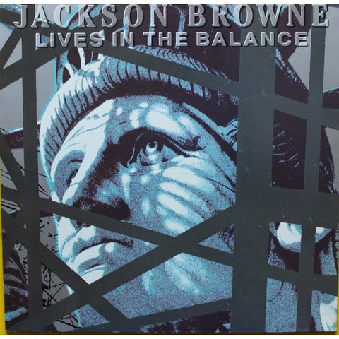 Jackson Browne Lives in the Balance -1986- Classic Rock (vinyl)