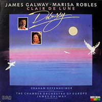 Debussy* - James Galway, Marisa Robles, Graham Oppenheimer, The Chamber Orchestra OF Europe ‎– Clair De Lune - Music Of Debussy 1986-Impressionist, Modern, Romantic (vinyl)
