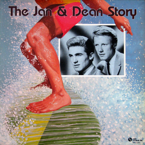Jan & Dean ‎– The Jan & Dean Story - Their Greatest Hits - 1977- Rock & Roll (vinyl)