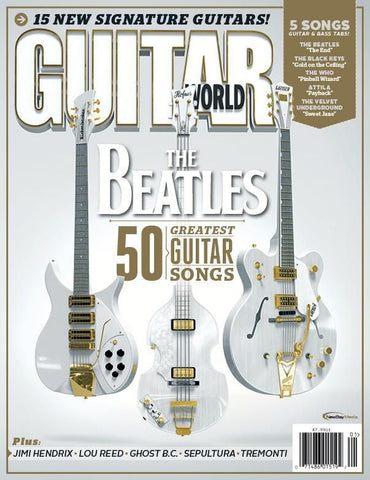 January 2014 Guitar World: The Beatles' 50 Greatest Guitar Moments (magazine)