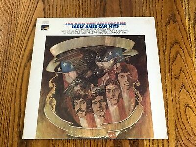 Jay & The Americans ‎– Early American Hits - 1967 - Rock (vinyl)