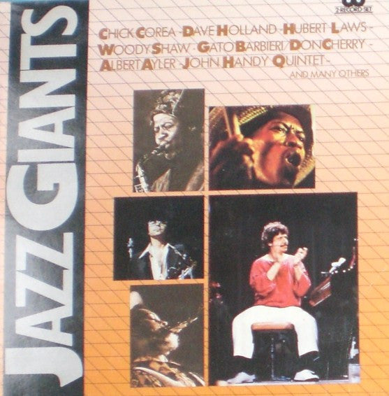 Jazz Giants Series ( 2lps ) I Giganti Del Jazz ( Italian Import) Corea, Handy, Ayler (vinyl)