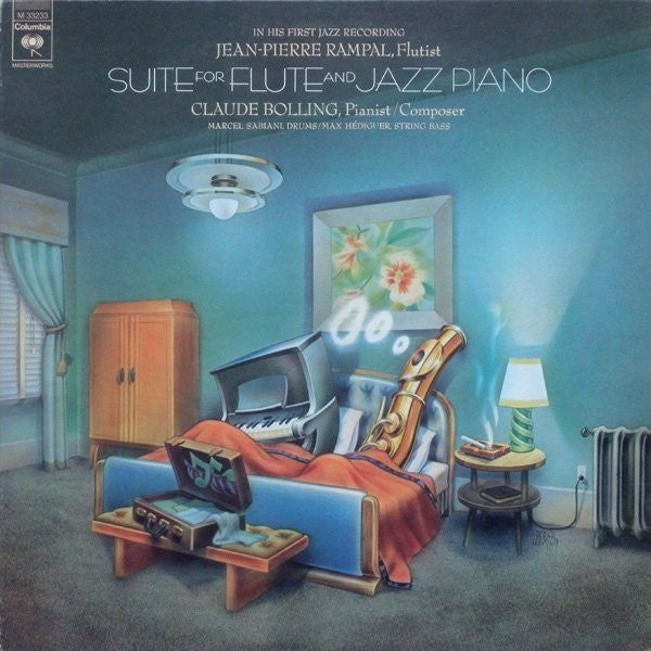 Jean-Pierre Rampal / Claude Bolling ‎– Suite For Flute And Jazz Piano - Classical (vinyl)