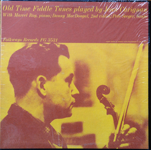 Jean Carignan ‎– Old Time Fiddle Tunes Played By - 1960-Folk, World, & Country (Rare Vinyl)
