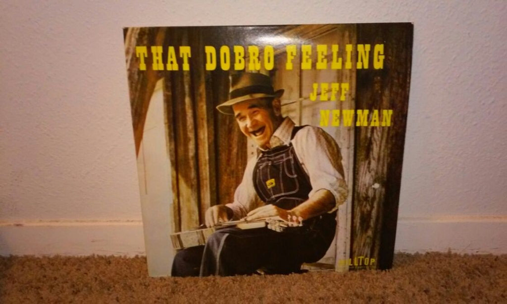 Newman, Jeff - That Dobro Feeling - Vinyl LP Record - Bluegrass
