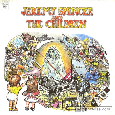 Jeremy Spencer And The Children ‎– Jeremy Spencer And The Children ( Rare )