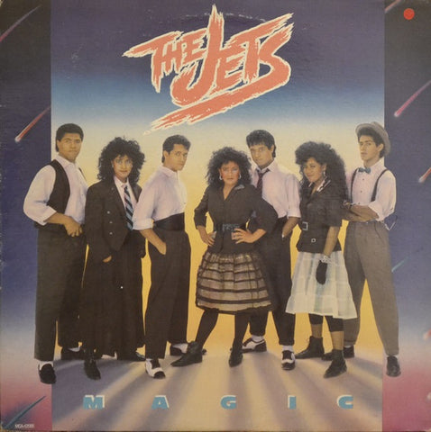 Jets , The ‎– Magic -1987 - Synth Pop (vinyl)