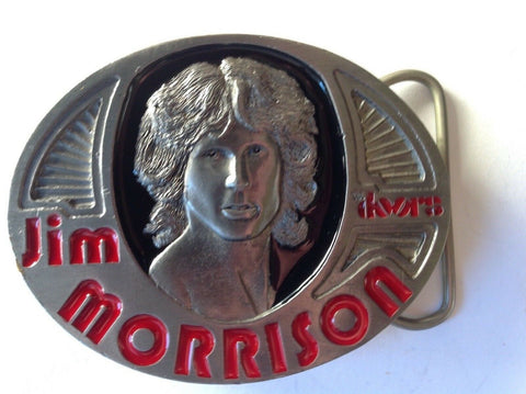 Jim Morrison Vintage 1996 Belt Buckle. Limited Edition Numbered #1289