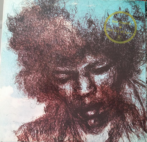 Jimi Hendrix ‎– The Cry Of Love - 1971-Psychedelic Rock, Blues Rock (rare Vinyl) note cover description