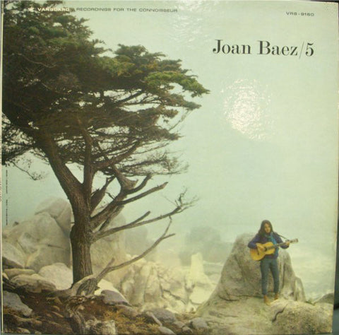 Joan Baez ‎– 5 -1964 - Folk Rock (vinyl)