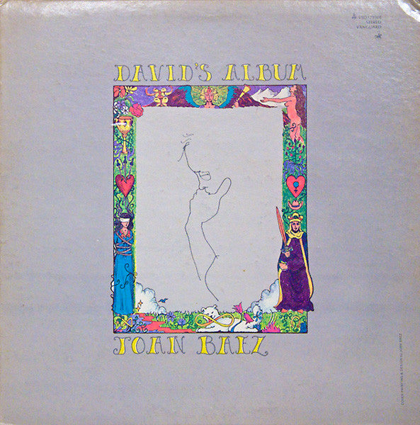 Joan Baez ‎– David's Album -1969-Country, Folk (vinyl)