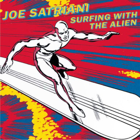 Joe Satriani ‎– Surfing With The Alien - 1987-Heavy Metal (vinyl) NMINT