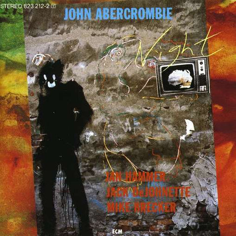 John Abercrombie ‎– Night - 1984 Jazz Fusion (vinyl)