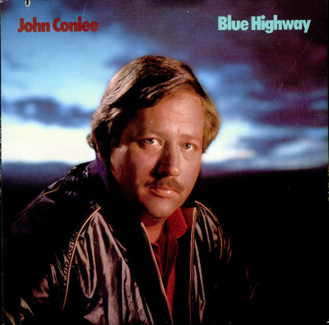 John Conlee ‎– Blue Highway - 1984-Folk, World, &  Country (Vinyl)
