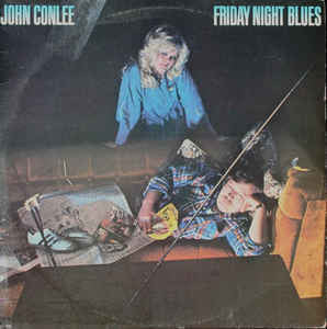 John Conlee ‎– Friday Night Blues - 1980-Folk, World, & Country (vinyl)