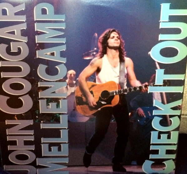 "John Cougar Mellencamp ‎– Check It Out -1988-Southern Rock -12"", 33 ⅓ RPM, EP"