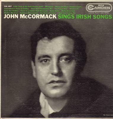 John McCormack Sings Irish Songs -1958 Irish Folk ( clearance vinyl ) Overstocked