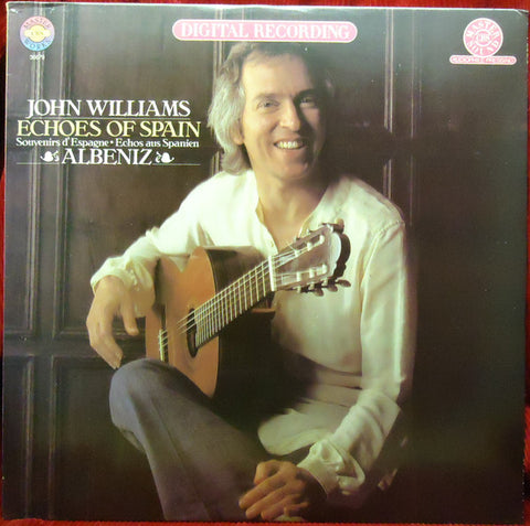 John Williams ‎– Echoes Of Spain - Albeniz -1981- Classical (vinyl)