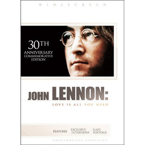 John Lennon: Love Is All You Need (New DVD)