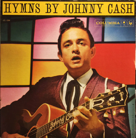 Johnny Cash ‎– Hymns By Johnny Cash - 1959- Folk, World, & Country (Rare Vinyl)