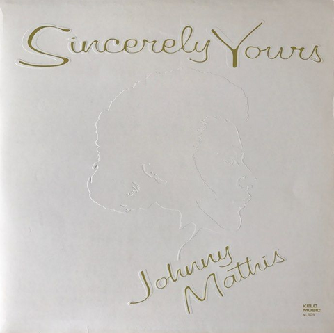 Johnny Mathis ‎– Sincerely Yours - 1979 Pop Ballad (vinyl)