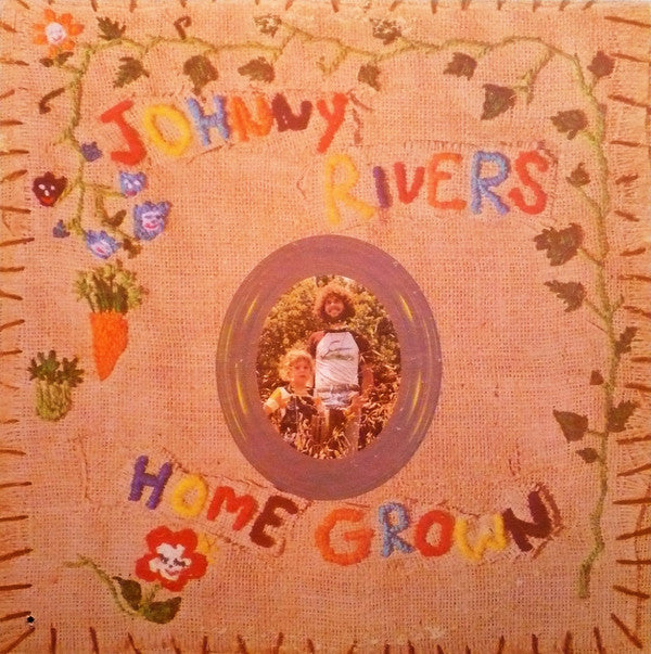 Johnny Rivers ‎– Home Grown -1970- Pop vocal (vinyl)
