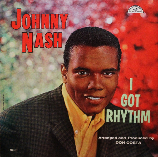 Johnny Nash ‎– I Got Rhythm - 1959-Jazz, Pop Vocal, soul ( Vinyl)
