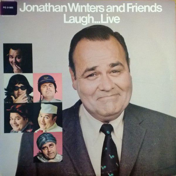 Jonathan Winters ‎– Jonathan Winters And Friends Laugh...Live ( 2lps) Comedy ( vinyl)