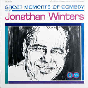 Jonathan Winters ‎– Great Moments Of Comedy With Jonathan Winters -1964-Comedy (vinyl)