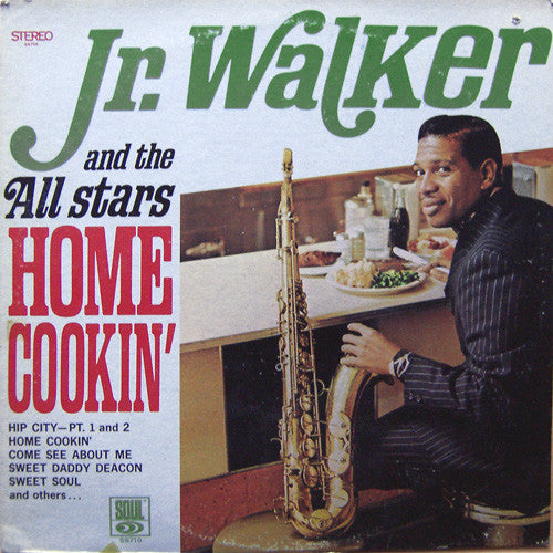 Jr. Walker And The All Stars ‎– Home Cookin' -1968 - Funk / Soul (vinyl)