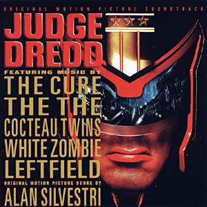 Judge Dredd Soundtrack cd