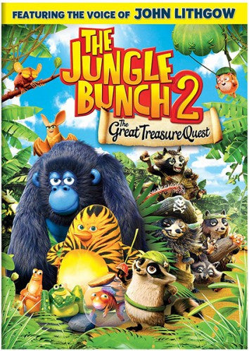 Jungle Bunch 2: The Great Treasure Quest NEW Sealed