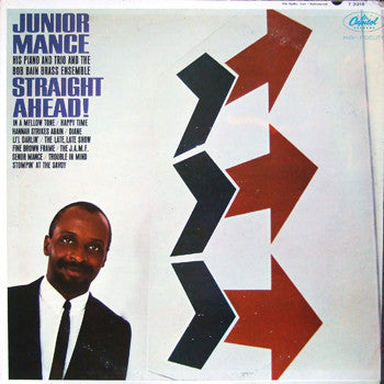 Junior Mance ‎– Straight Ahead! -1964-Soul Jazz (Rare Vinyl)