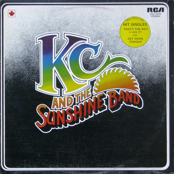 KC And The Sunshine Band ‎– KC And The Sunshine Band - 1975-Funk / Soul (vinyl)